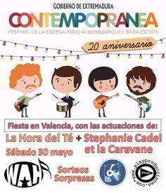 Fiesta presentación en Valencia del Festival Contempopranea