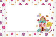 Imprimibles de casita con jardín. - Ideas y material gratis para fiestas y celebraciones Oh My Fiesta!