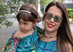 Moda mãe e filha | Mamãe Plugada