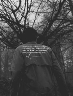 Castiel: like the moon, we borrow our light i am nothing but a shadow in the night but if you let me, i will look and try to let your glory and mercy shine #spn