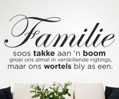afrikaanse Wallart - Google Search Silhouette Sign, Afrikaanse Quotes, Rustic Signs, Vinyl Wall Art, Thought Provoking, Proverbs, Cool Words, Wall Stickers, Inspirational Quotes