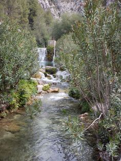 Algar waterfall Spain