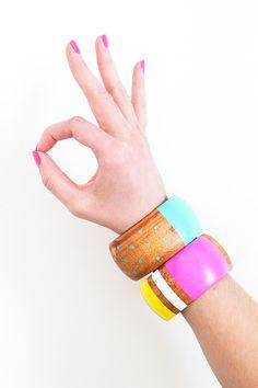 Cute! DIY bangles