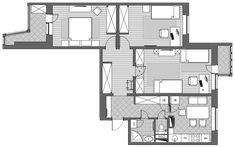 Чем бы вы пожертвовали ради гостиной? Дело в том, что в этой квартире живет многодетная семья. Поэтому на гостиную места не хватило физически. Хотя, если бы была дополнительная комната, хозяева сделали из нее гостиную. Это трехкомнатная квартира в панельном доме серии П-44. С одной стороны то, что…