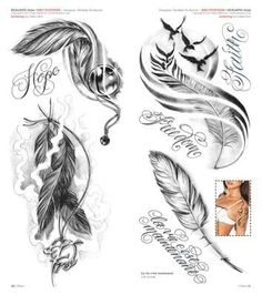 Feathers - Feathers Best Picture For diy projects For Your Taste You are looking for something, and it is go - Feather Tattoo For Men, Indian Feather Tattoos, Feather Tattoo Design, Feather Art, Body Art Tattoos, Small Tattoos, Sleeve Tattoos, Tatoos, Rosen Tattoo Frau