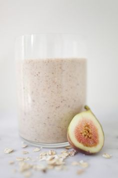 Fig oat smoothie