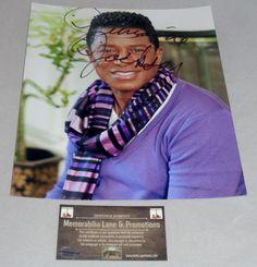 Jermaine Jackson autographed 8x10 COA Memorabilia Lane & Promotions