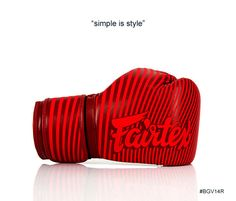 GENUINE FAIRTEX BRAND NEW MICRO FIBER BOXING GLOVES RED ART COLLECTION #Fairtex