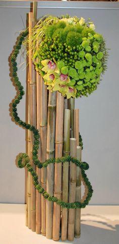 Belo com bambu...