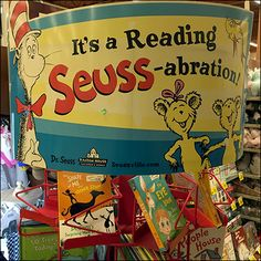 Seuss Reading Celebration Book Tower – Fixtures Close Up
