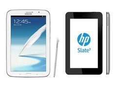 Samsung y HP presentan nuevas tablets y arremeten contra el iPad Mini.