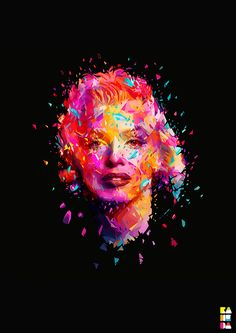 Abstract Colors 2012 by Alessandro Pautasso, via Behance