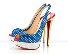 star spangled stilettos