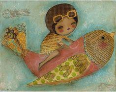 I Dream Of Flying by Danita Art, via Flickr