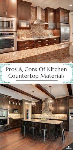 36 best kitchen countertop materials images kitchen countertop rh pinterest com