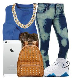 """""""I got the blues"""" by destinylove66 ❤ liked on Polyvore featuring Cheap Monday, Retrò and MCM"""