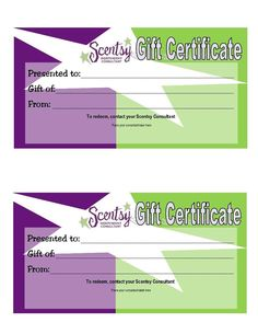Scentsy Gift Certificates ScentsbyKris.scentsy.us