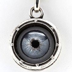 Fab.com   Blue Bayer Design: Steampunk Evil Eye Necklace Slv, at 17% off!