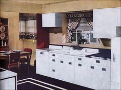 1000 images about 1940 39 s to 1950 39 s style kitchen decorating on pinterest retro retro. Black Bedroom Furniture Sets. Home Design Ideas