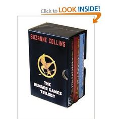 """The Hunger Games"" trilogy by Suzanne Collins  I've already read all three books, rather amazing."