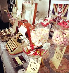 wedding ideas, brides, tabl idea, sweeti tabl