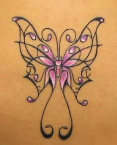 Pictures Butterfly Tattoos On Designs Art