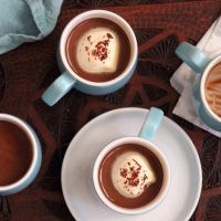 Little Mocha Custards | The Kiwi Cook