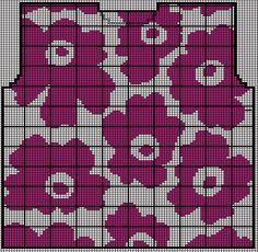 Marimekko, Wallpapers, Stitch, Patterns, Knitting, Needlepoint, Block Prints, Full Stop, Tricot