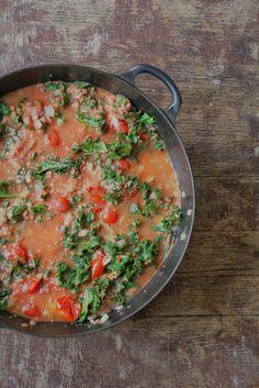 Salsiccia og grønnkål gryte - i Crock Pot eller ikke - Mat på bordet