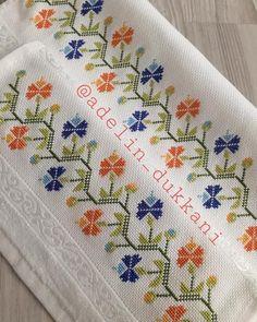 Crochet Bedspread, Hand Embroidery, Cross Stitch, Bargello, Traditional, Cross Stitch Rose, Cross Stitch Patterns, Cross Stitch Borders, Cross Stitch Designs