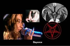 Beyonce loves baphomet