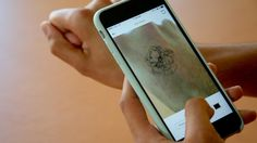 Augmented Reality Tattoo App Helps You Think Before You Ink  Ink Hunter uses your phone's camera and augmented reality technology to show you what a tattoo would look like on your body.     If you get a tattoo, you're pretty much stuck with it for life, so you want to be absolutely sure about getting inked before you do it. So we tested theInk Hunter app, which uses augmented reality to show you what you'd look like with a tat.    This video includes a clip from  Patty Walters / CC..