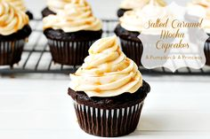 Salted Caramel Mocha Cupcake Recipe