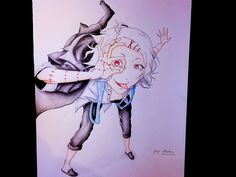 Drawing Juuzou from Tokyo Ghoul Tokyo Ghoul, League Of Legends, Art Drawings, Painting, League Legends, Painting Art, Paintings, Painted Canvas, Drawings