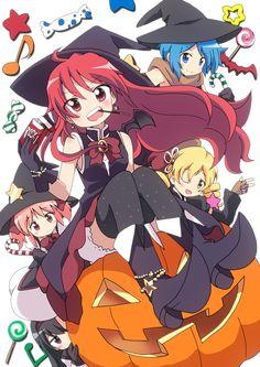 Puella Magi Madoka Magica Halloween