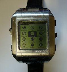 Fossil Wrist PDA with Palm OS