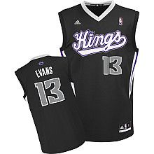 adidas Sacramento Kings Tyreke Evans Youth (Sizes 8-20) Replica Alternate Jersey - NBAStore.com