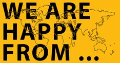 Video submissions from around the world of Pharrell's Happy. Hours of pure enjoyment! #happy #travel #world