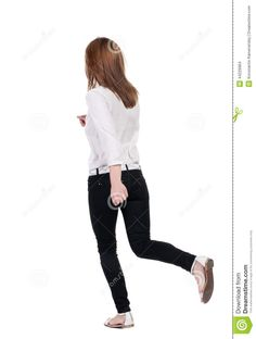 woman running away back - Cerca con Google