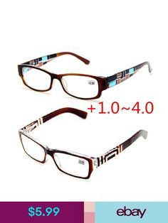 f2c49558a306 Men Womens Fashion Textures Design SPRING HINGES READING READERS GLASSES +1.0~4.0