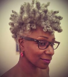 1000+ images about Beautiful Women of Color with Gray Hair ... - photo#28