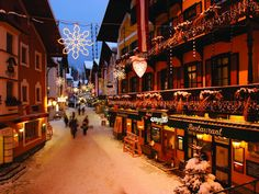 Christmas in Switzerland. Who wouldn't want to be there?