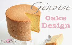 La génoise nature haute spécial cake design Genoise Cake, Gateau Cake, No Cook Desserts, Mini Desserts, Mini Cakes, Cupcake Cakes, Victoria Cakes, Cake Recipes, Dessert Recipes