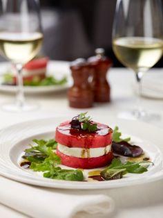 Watermelon and Mozzarella Di Bufala Salad from @Michelle Flynn Conlon Restaurant - #odor #perfume