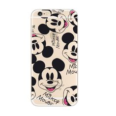 Disney mickey mouse iphone 6 plus se 5 soft clear case - mavaso Cute Cases, Cute Phone Cases, Phone Cases Iphone6, Iphone Cases, Iphone 32gb, Iphone 6, Disney Mickey Mouse, Walt Disney, Disney Phone Cases