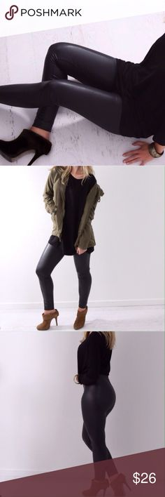 🆕 Slit City Black Matte Legging Please see last photo above for item details 👆🏼  Brand New, Never been worn  Size: Small Color: Blck Re-posh: Kristin Pants Leggings
