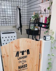 23 Tiny Laundry Room With Nature Touches | Home Design And Interior