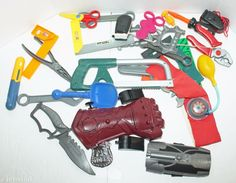 1.7LBS MIX LOT PRETEND PLAY TOOLS & GADGETS OR ADD ITEMS TO YOUR COLLECTION USED #Unbranded