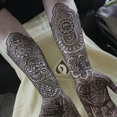 Bride who wanted her mehendi to be really symbolic