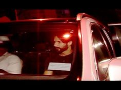 Shahid Kapoor spotted at Hulk magzine party 2016.